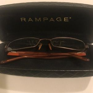 Rampage glasses frames with case